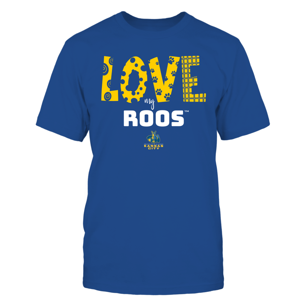 UMKC Kangaroos - Love My Team - Doodle Front picture