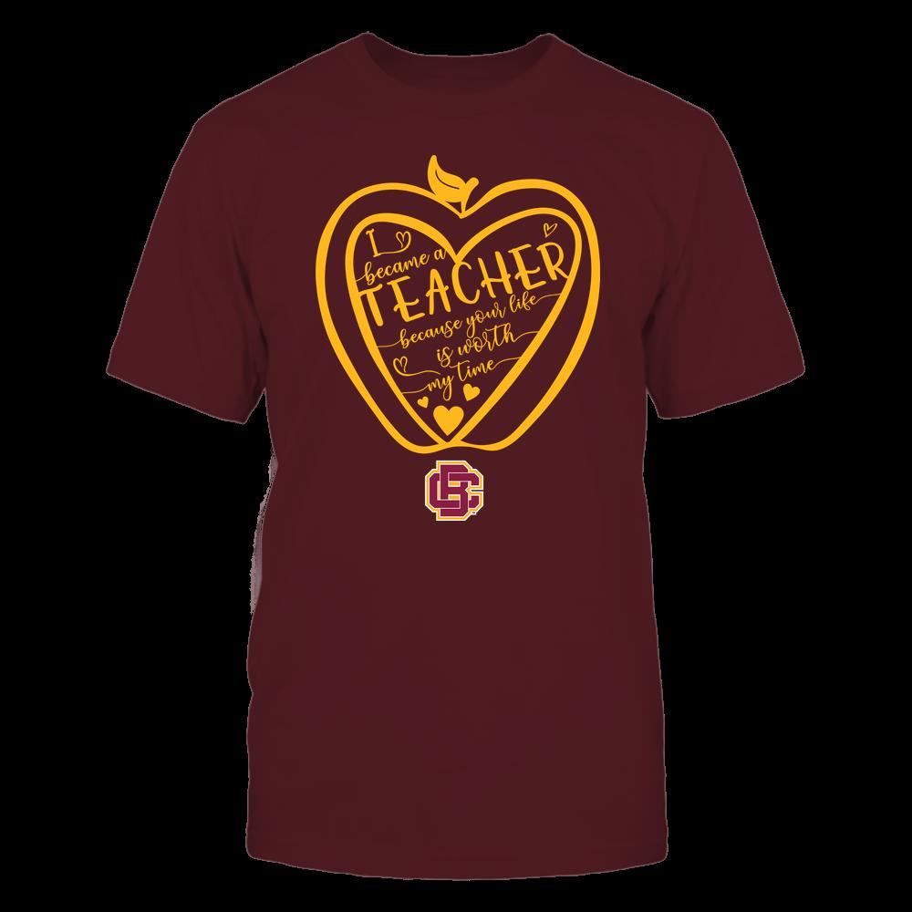 Bethune-Cookman Wildcats - Teacher - Heart in Apple Front picture