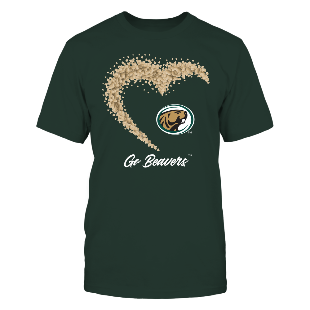 Bemidji State Beavers - Heart 3/4 By Heart - Catchphrase Front picture