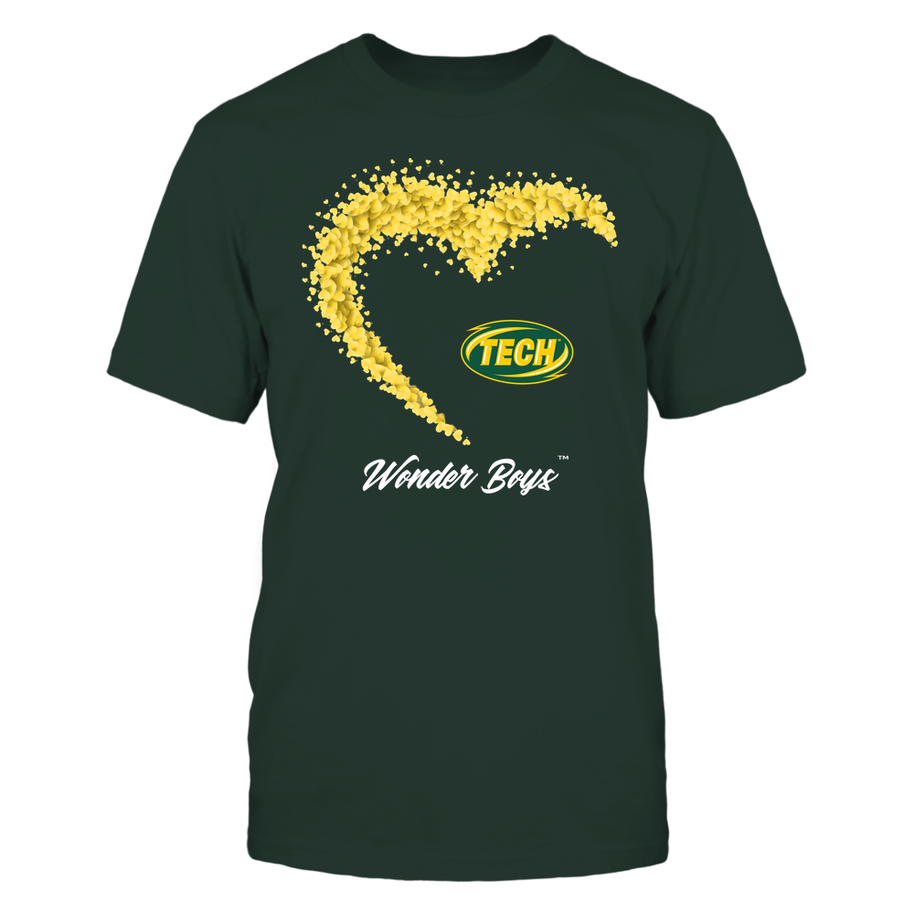 Arkansas Tech Golden Suns - Heart 3/4 By Heart - Catchphrase Front picture