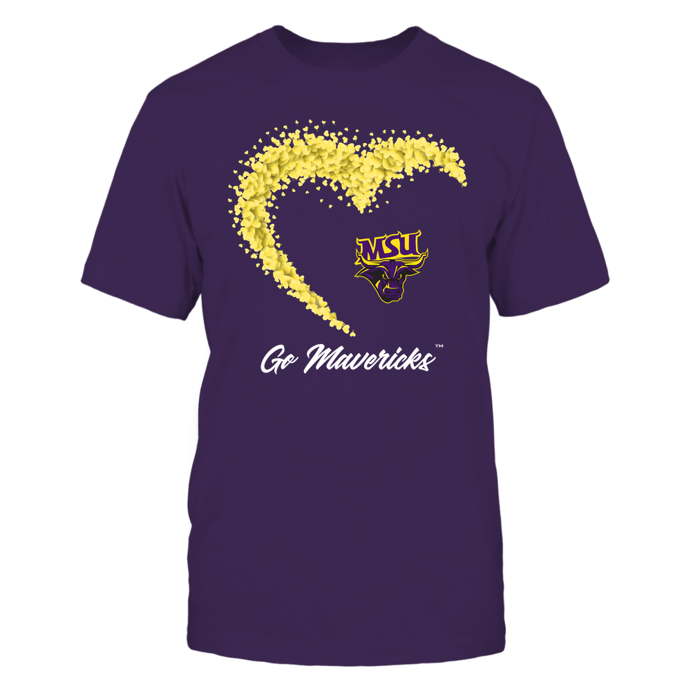 Minnesota State Mavericks - Heart 3/4 By Heart - Catchphrase Front picture
