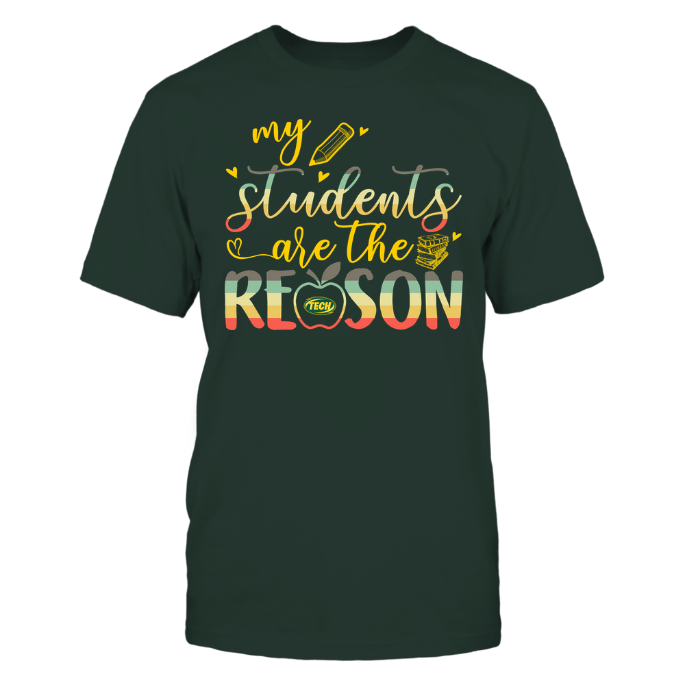 Arkansas Tech Golden Suns - Teacher - Students Are My Reason Front picture