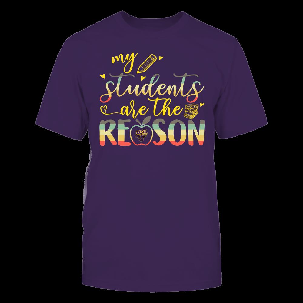 Minnesota State Mavericks - Teacher - Students Are My Reason Front picture