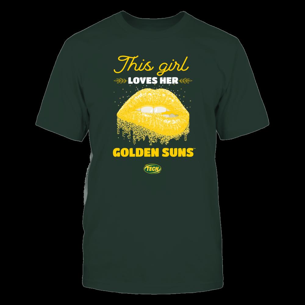 Arkansas Tech Golden Suns - Girl Loves Her Team Front picture