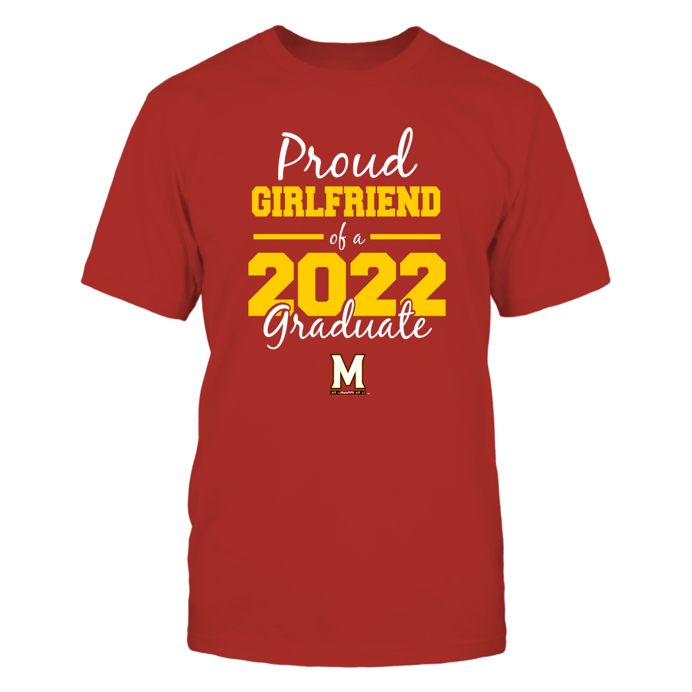 Maryland Terrapins - Proud Girlfriend 2022 Front picture