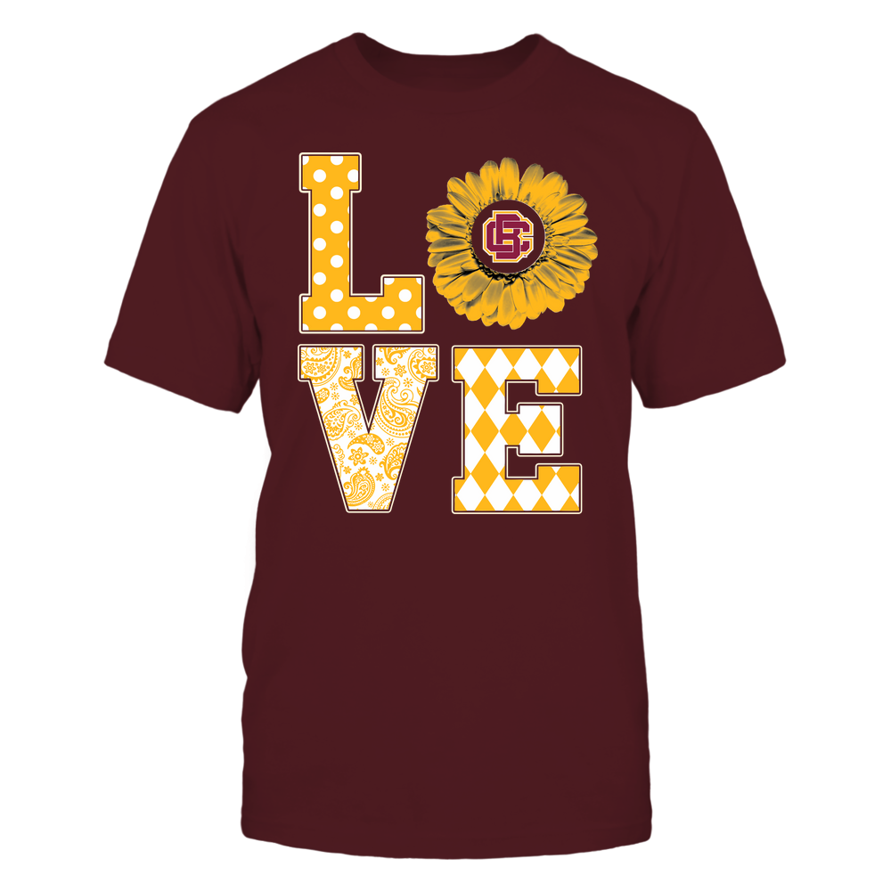 Bethune-Cookman Wildcats - Stacked Love Pattern - Daisy Front picture