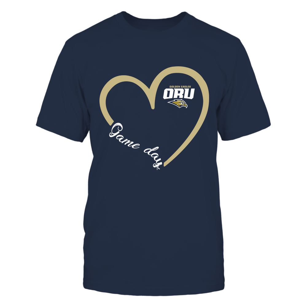 Oral Roberts Golden Eagles - Heart 3/4 - Game Day Front picture