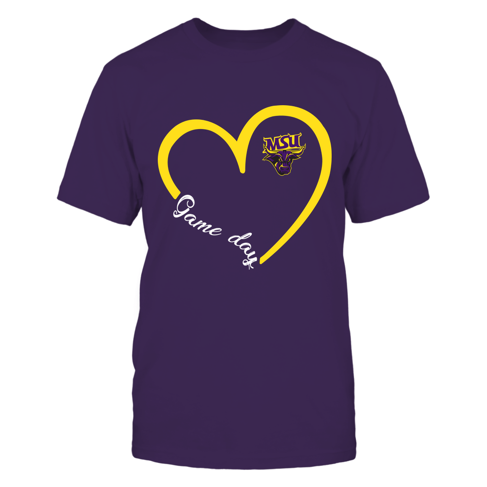 Minnesota State Mavericks - Heart 3/4 - Game Day Front picture