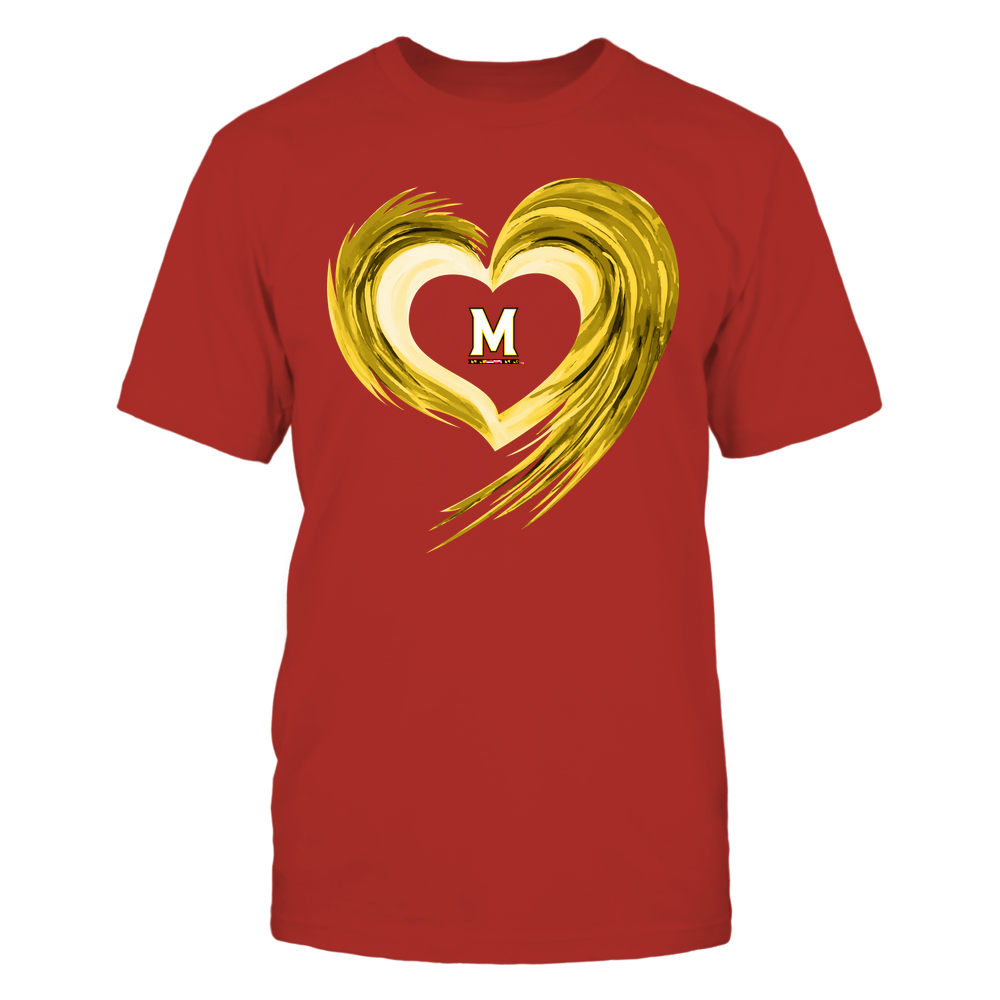 Maryland Terrapins - Heart on Fire Front picture