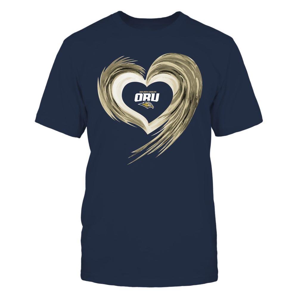 Oral Roberts Golden Eagles - Heart on Fire Front picture