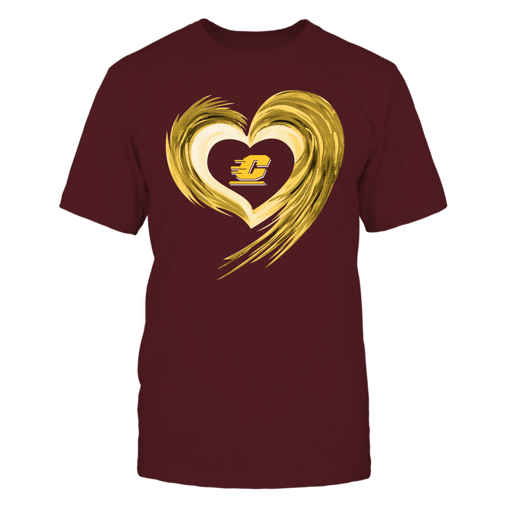 Central Michigan Chippewas - Heart on Fire Front picture