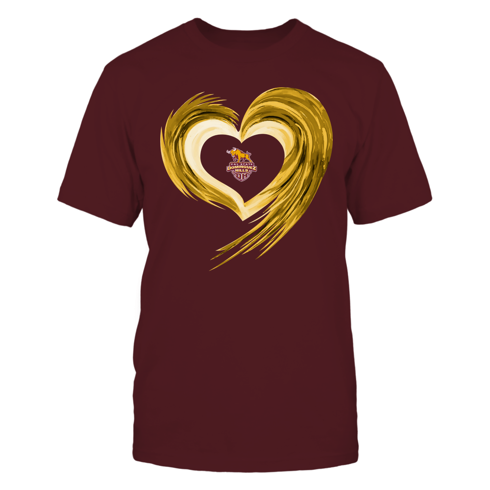 Cal State Dominguez Hills Toros - Heart on Fire Front picture