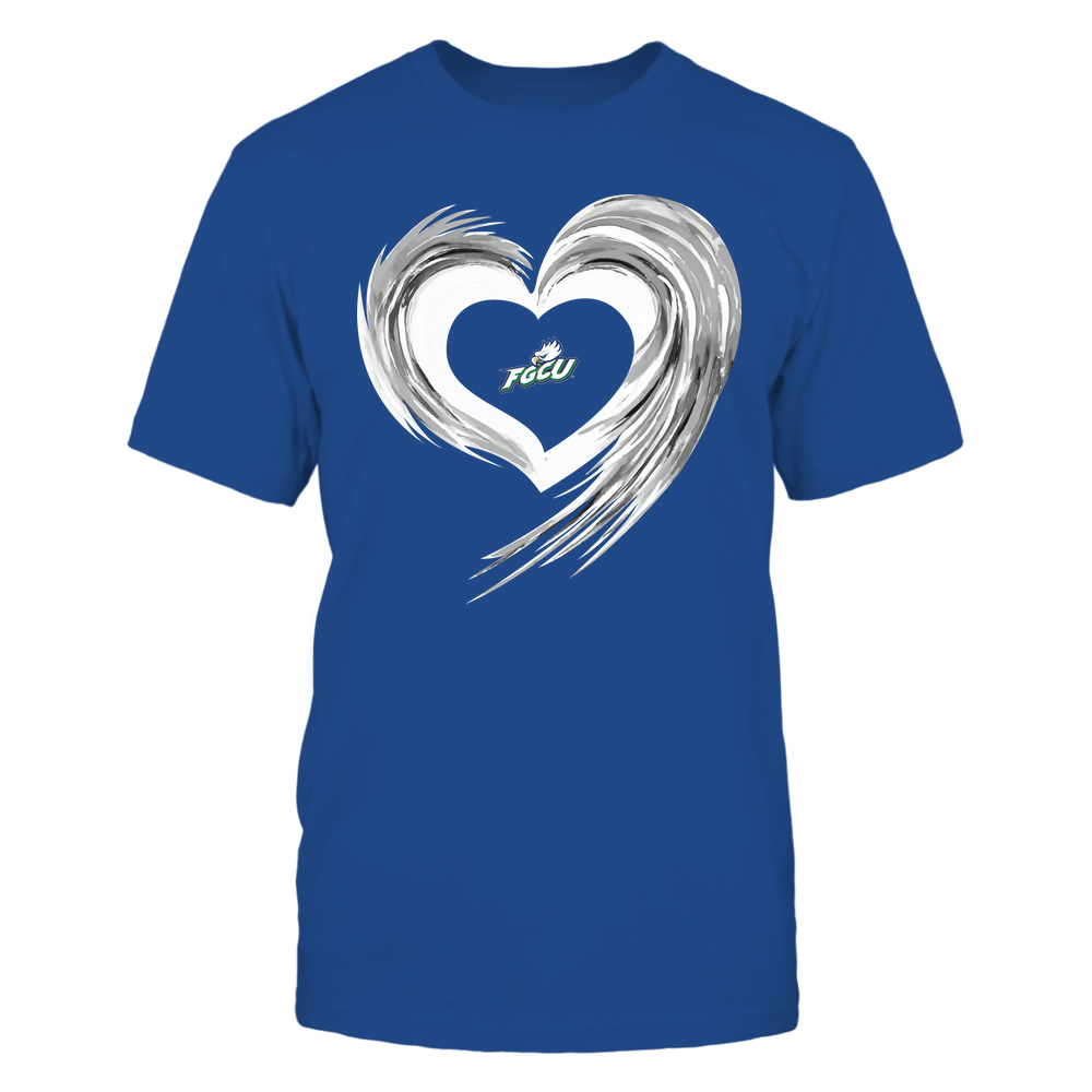 Florida Gulf Coast Eagles - Heart on Fire Front picture