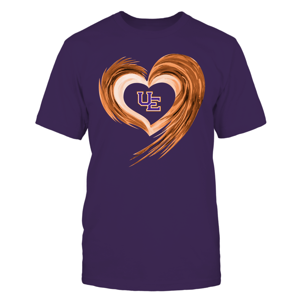 Evansville Purple Aces - Heart on Fire Front picture