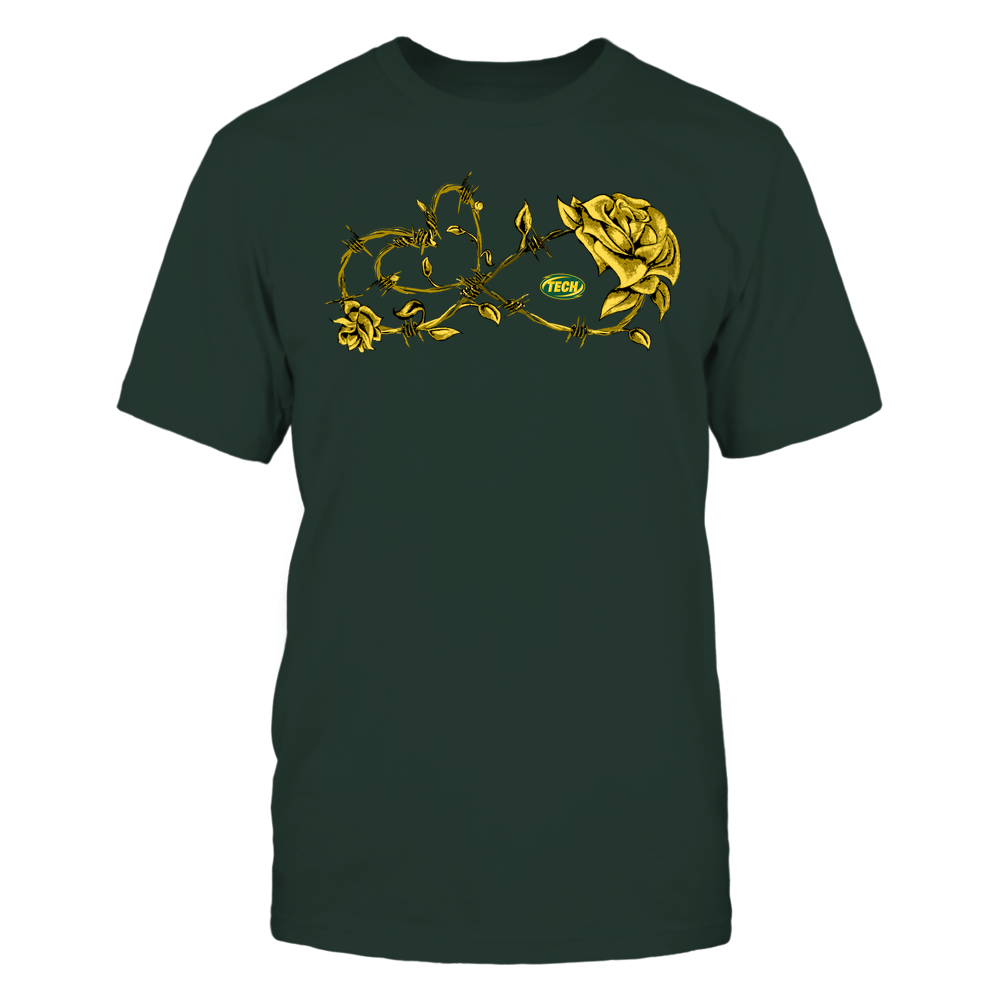 Arkansas Tech Golden Suns - Infinity Barbed Wire Rose Front picture