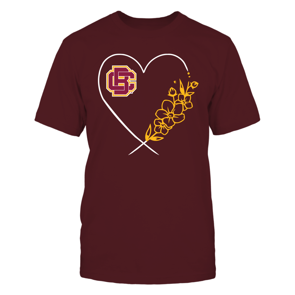 Bethune-Cookman Wildcats - Heart Flower Front picture