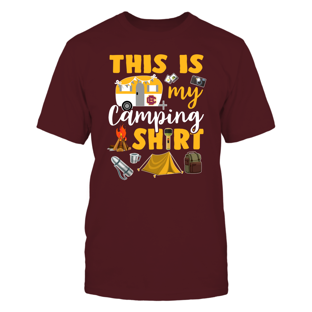 Bethune-Cookman Wildcats - This Is My Camping Shirt Front picture
