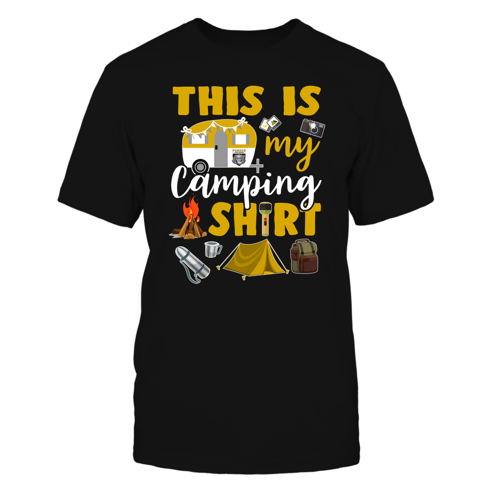 PFW Mastodons - This Is My Camping Shirt Front picture