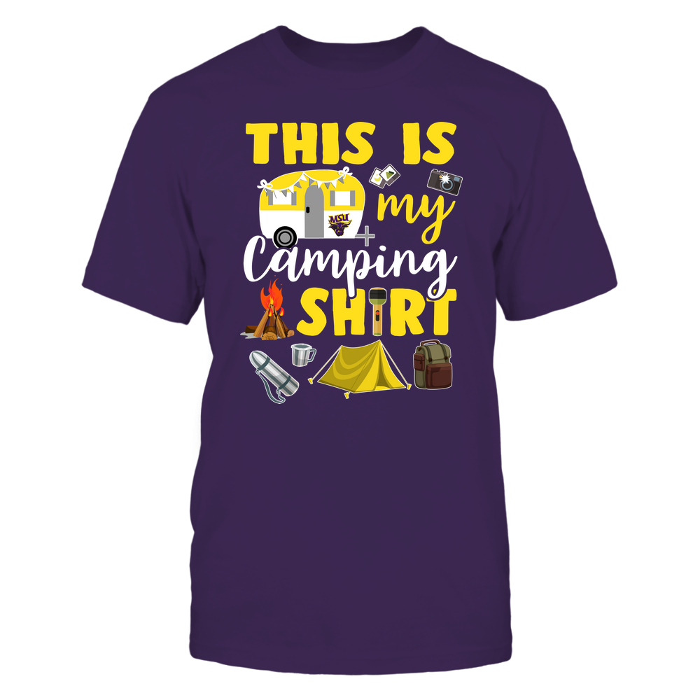Minnesota State Mavericks - This Is My Camping Shirt Front picture