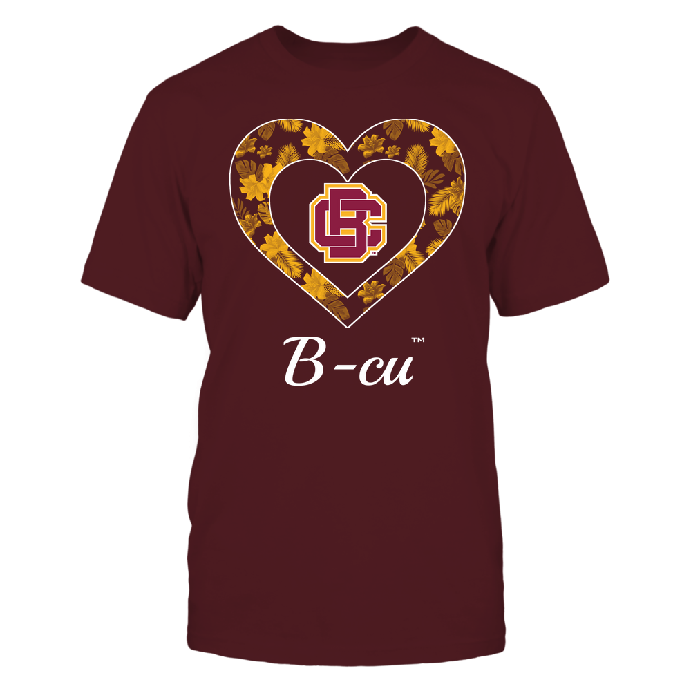 Bethune-Cookman Wildcats - Patterned Heart Front picture