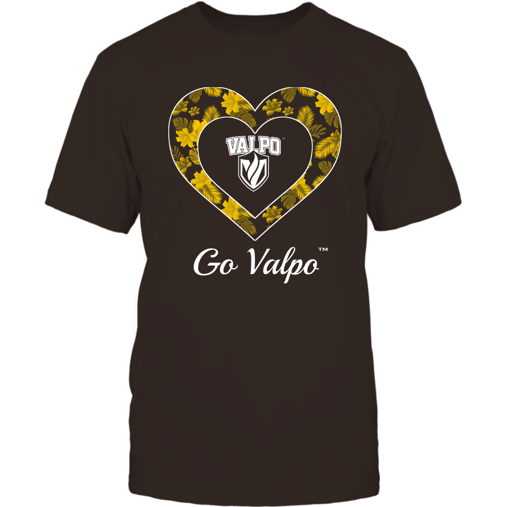 Valparaiso Crusaders - Patterned Heart Front picture