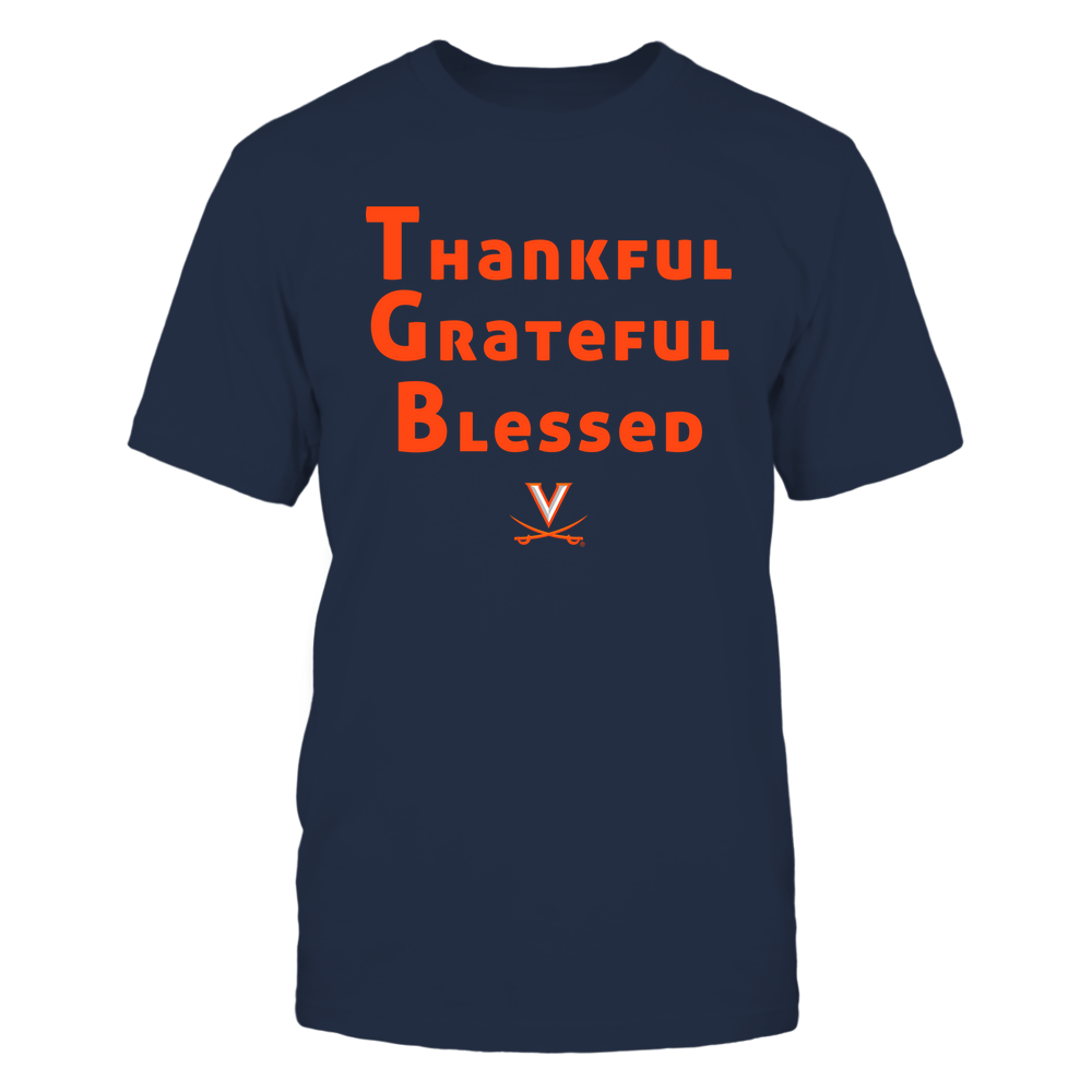 Virginia Cavaliers - Thankful Grateful Blessed Front picture