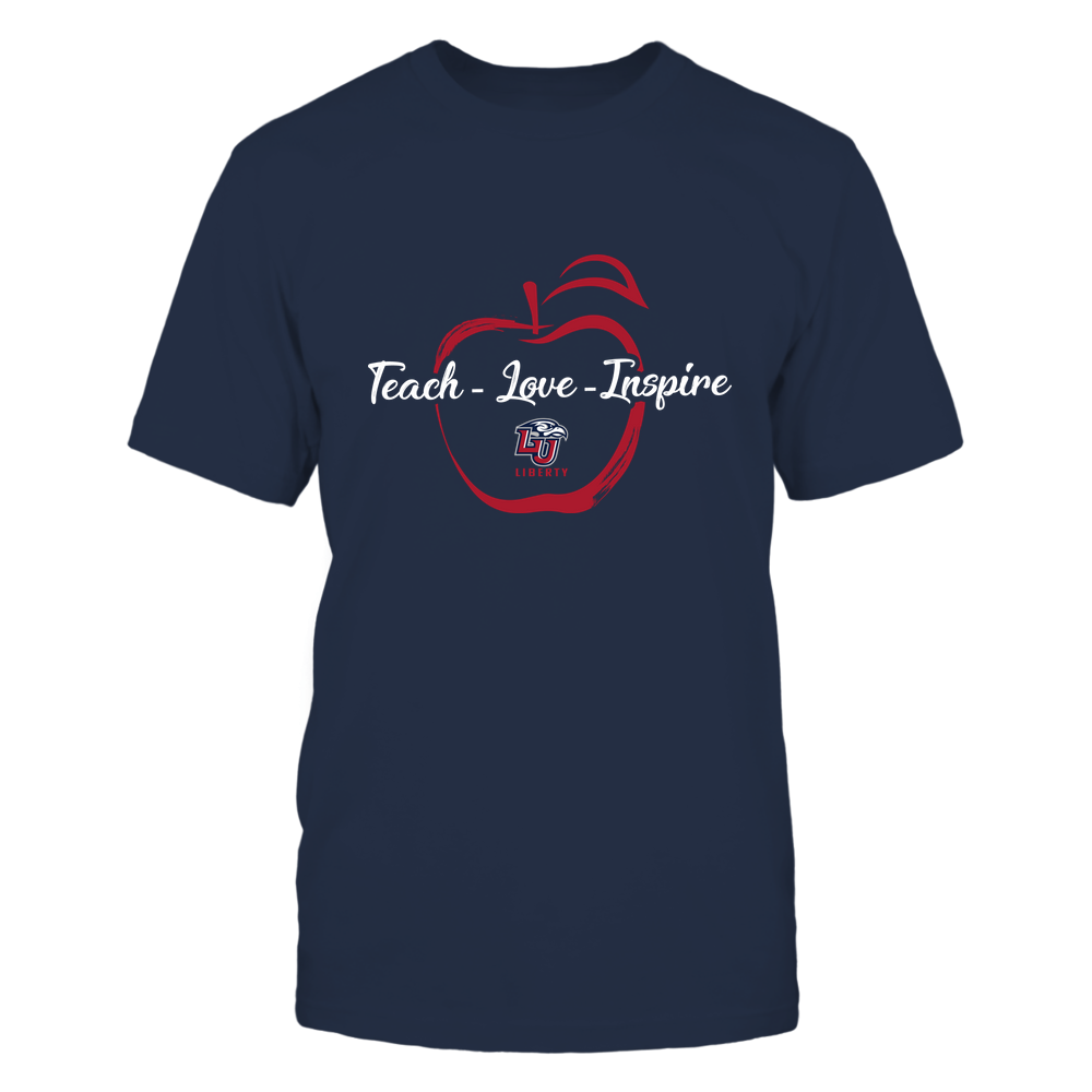 Liberty Flames - Teach Love Inspire - Apple Brush Stroke Front picture
