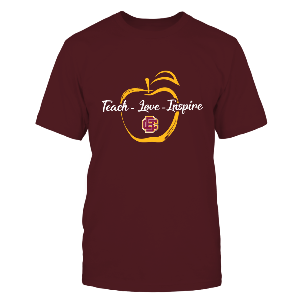 Bethune-Cookman Wildcats - Teach Love Inspire - Apple Brush Stroke Front picture