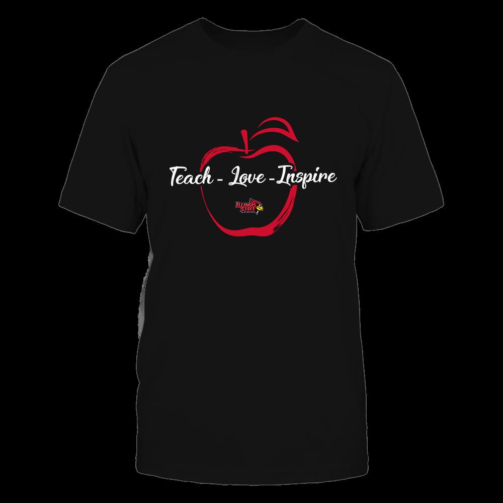Illinois State Redbirds - Teach Love Inspire - Apple Brush Stroke Front picture