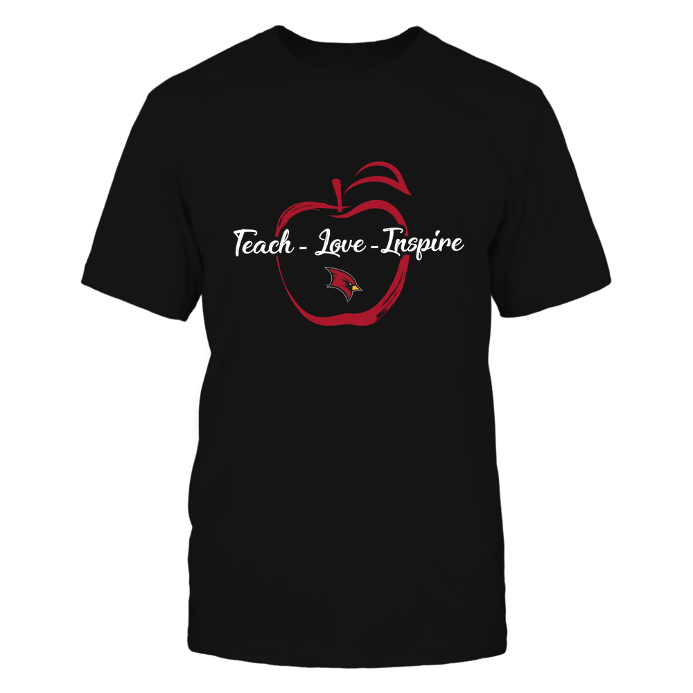 Saginaw Valley State Cardinals - Teach Love Inspire - Apple Brush Stroke Front picture
