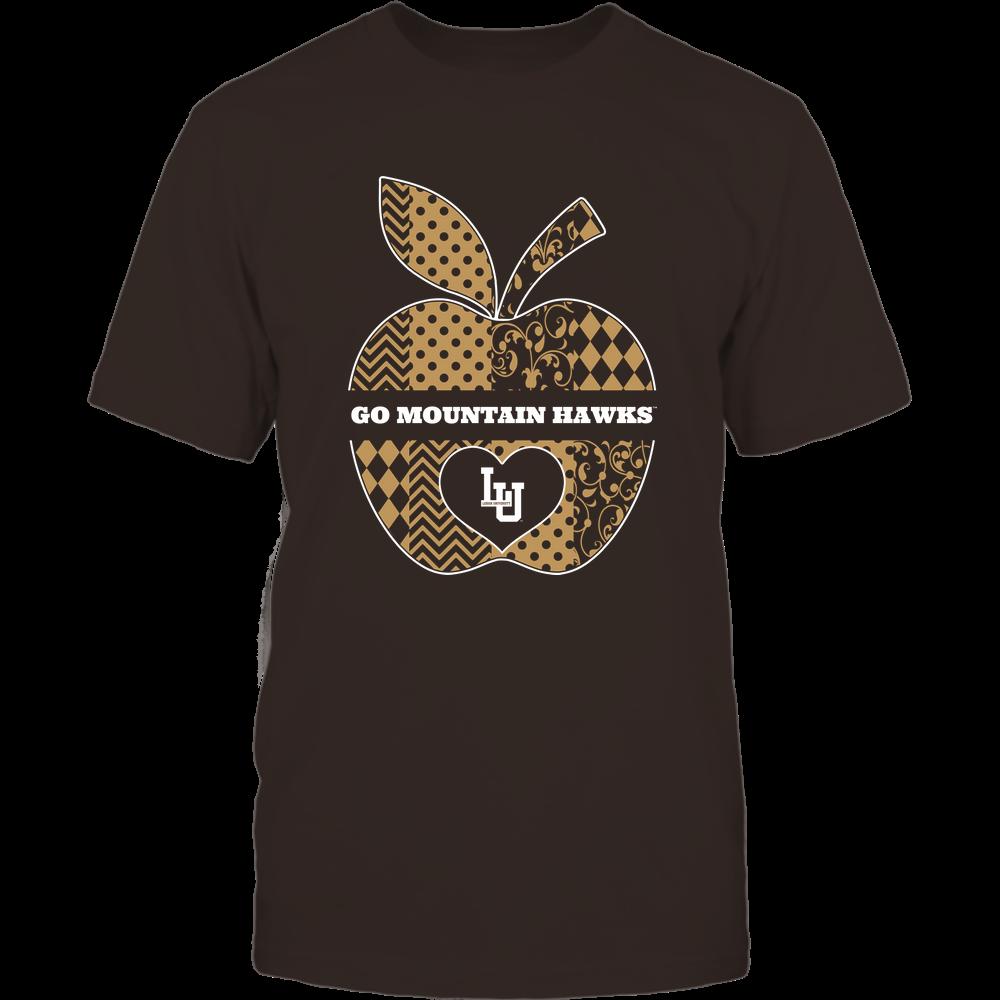 Lehigh Mountain Hawks - Teacher - Pattern Apple - Cut Through Front picture