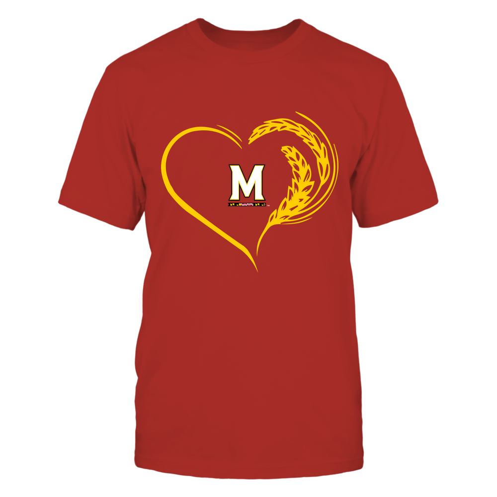 Maryland Terrapins - Farmer Heart Front picture