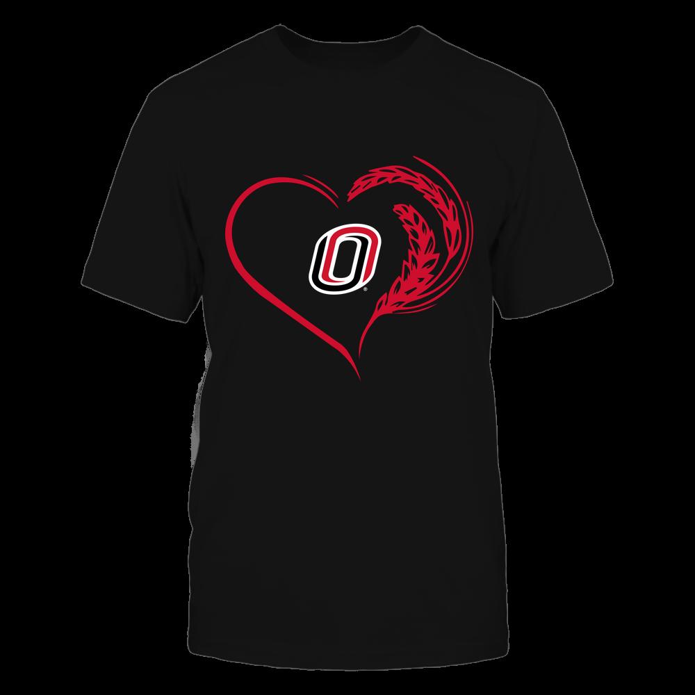 Nebraska Omaha Mavericks - Farmer Heart Front picture