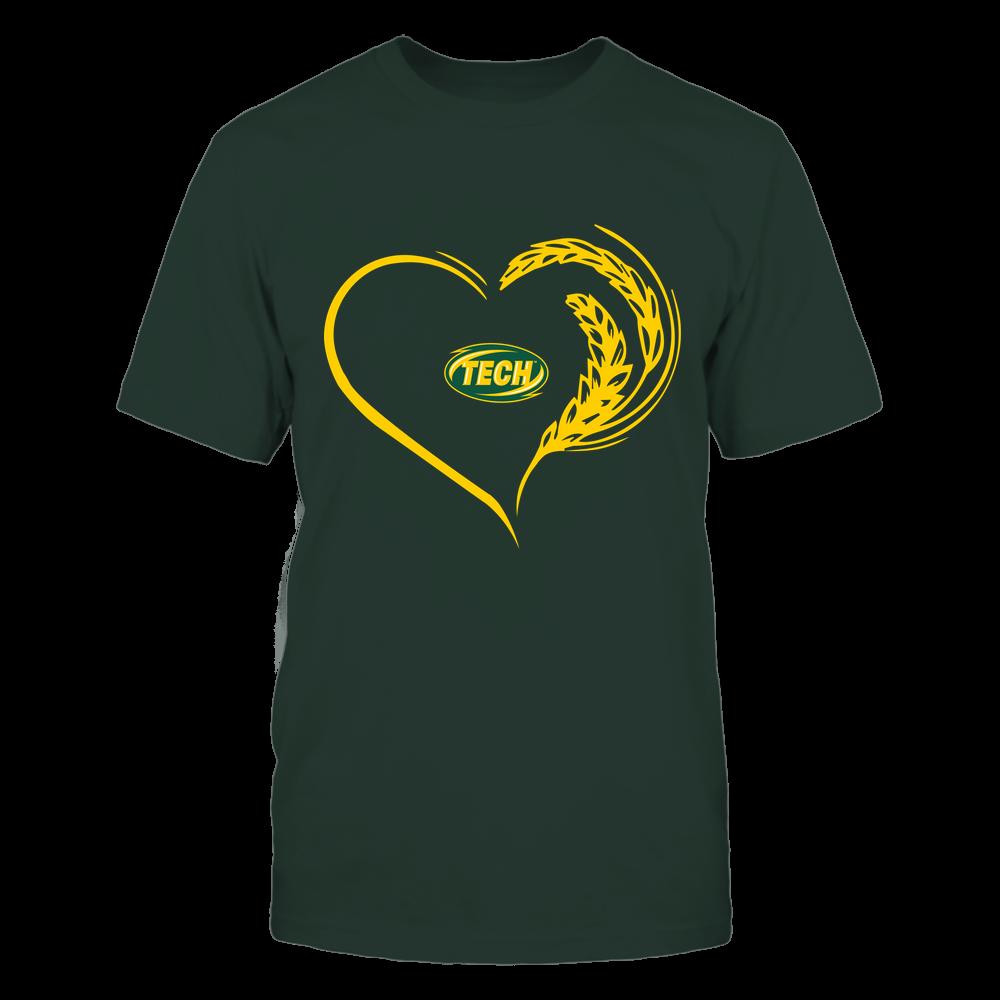 Arkansas Tech Golden Suns - Farmer Heart Front picture