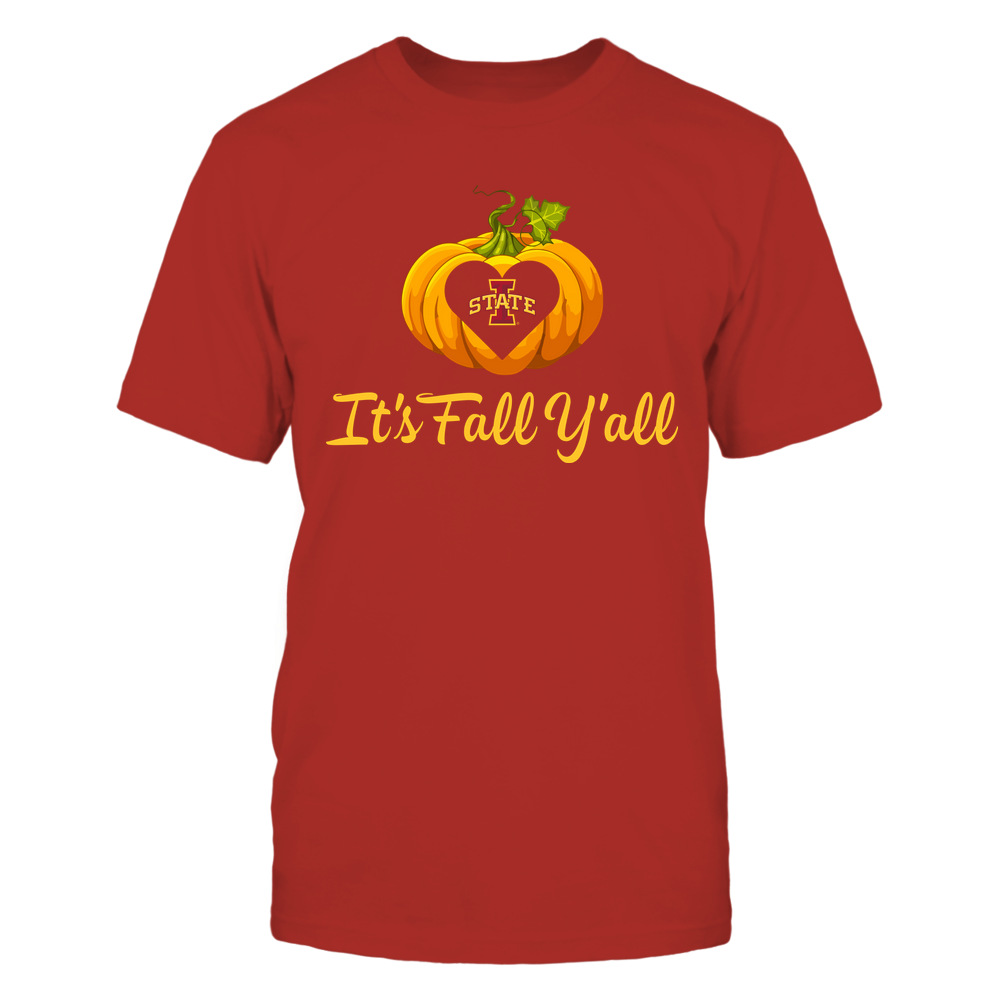 Iowa State Cyclones - It's Fall Y'all - Pumpkin Front picture