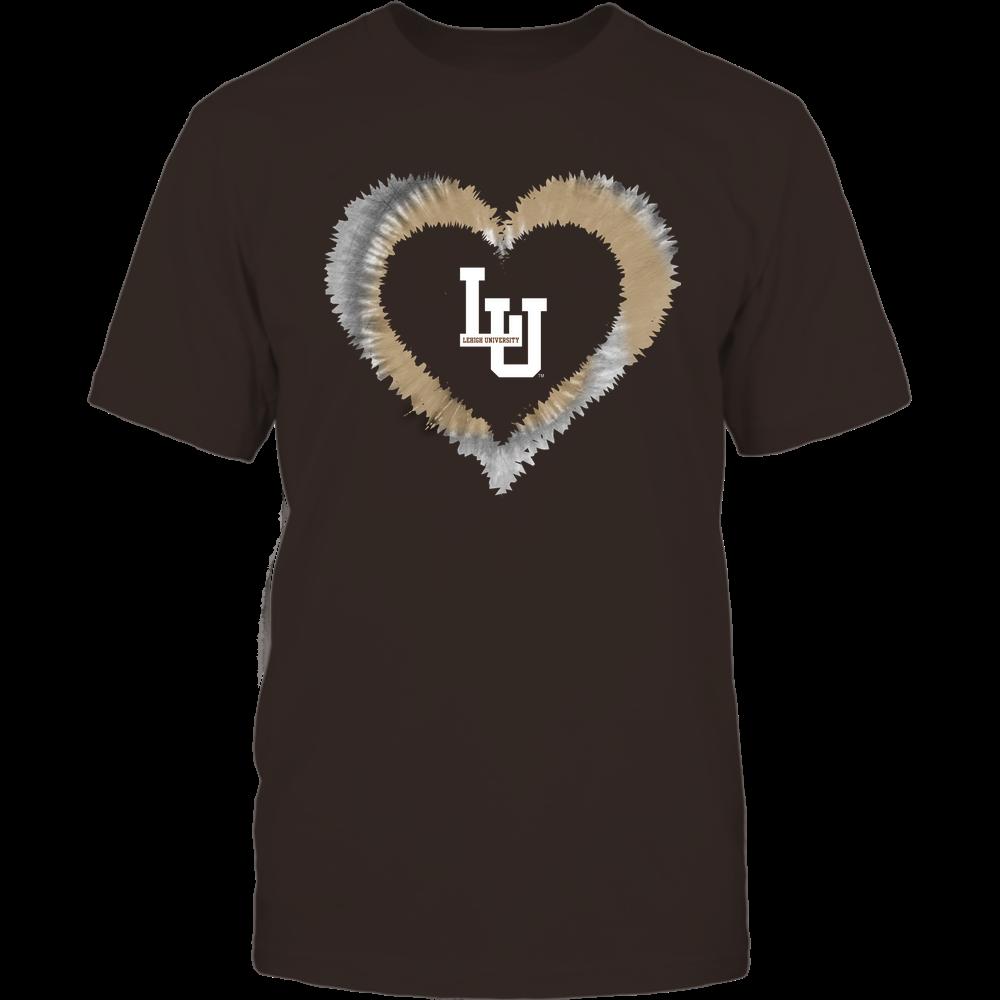 Lehigh Mountain Hawks - Tie-Dye Heart Shape Front picture
