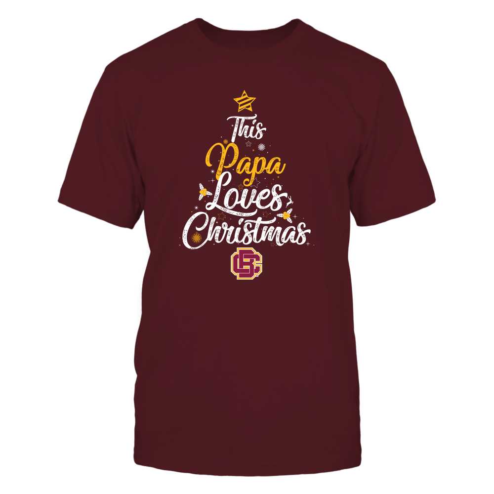 """Bethune-Cookman Wildcats - This """"Papa"""" Loves Christmas Front picture"""