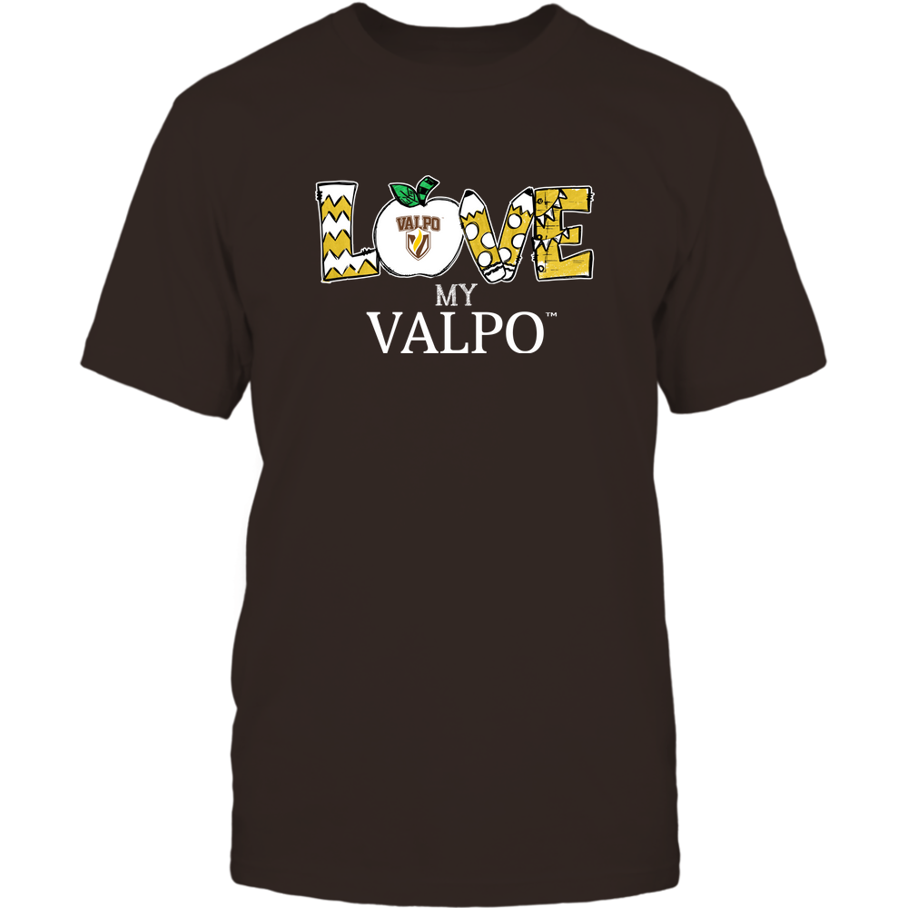 Valparaiso Crusaders - Love My Team - Hand Drawn Front picture