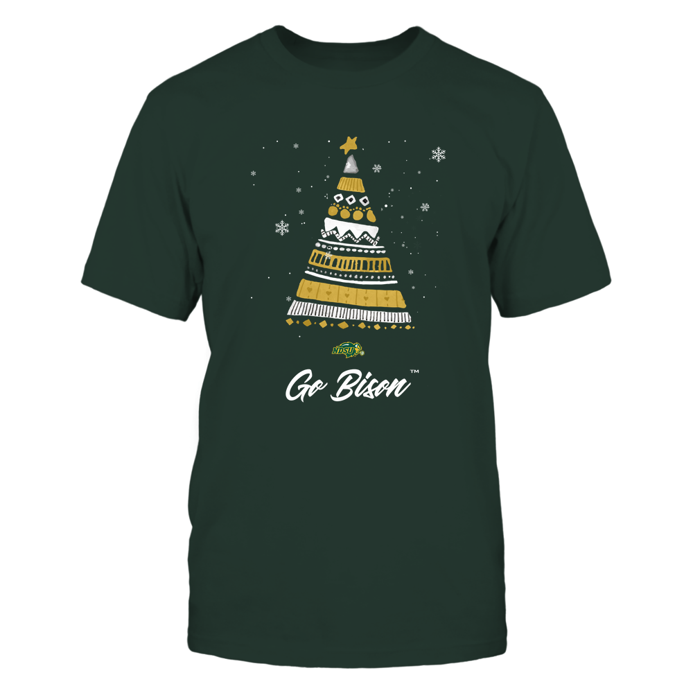 North Dakota State Bison - Christmas Tree Patterns - My Team Front picture