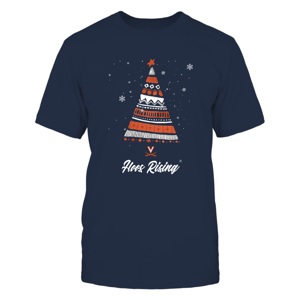 Virginia Cavaliers - Christmas Tree Patterns - My Team Front picture
