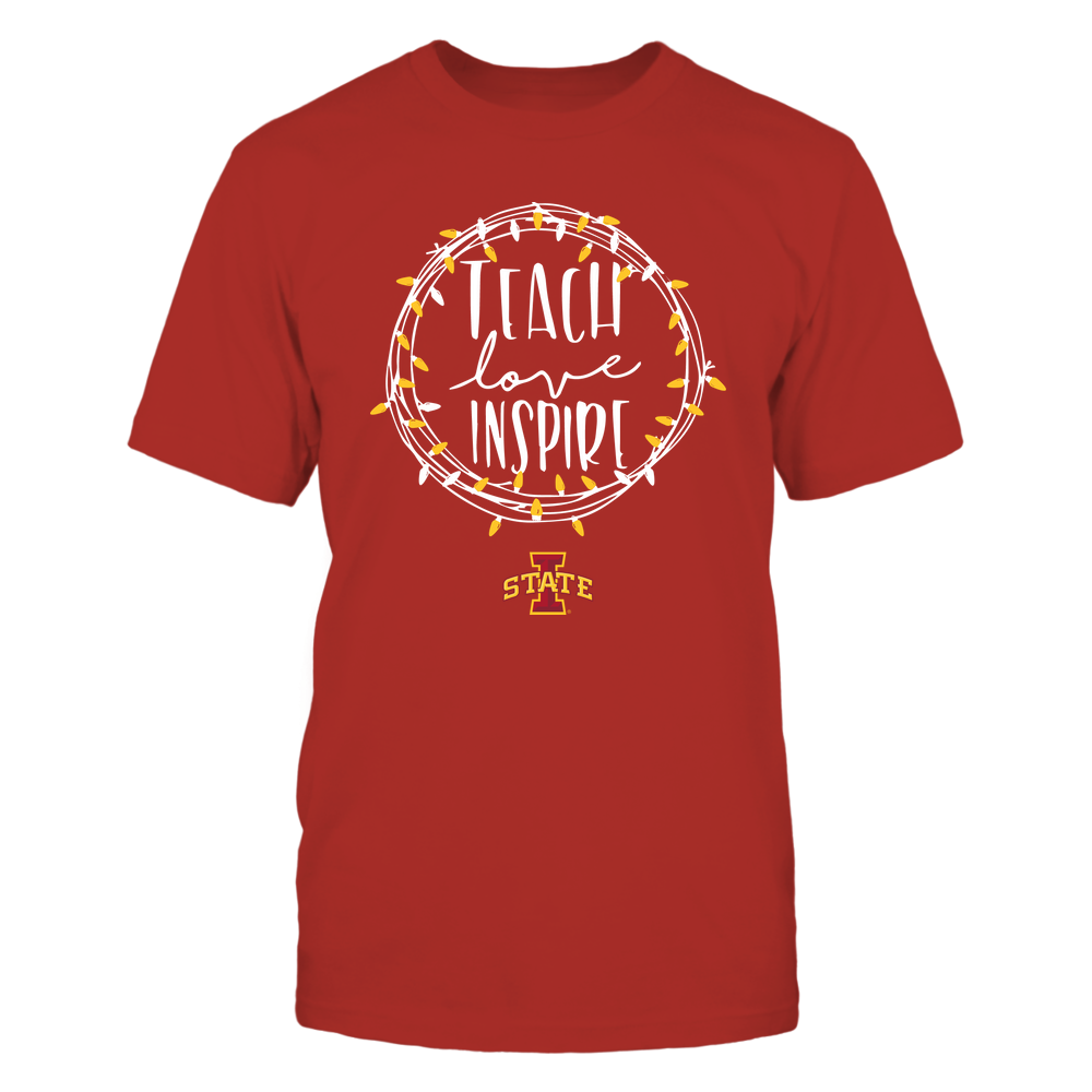 Iowa State Cyclones - Holiday Season - Teach Love Inspire Front picture