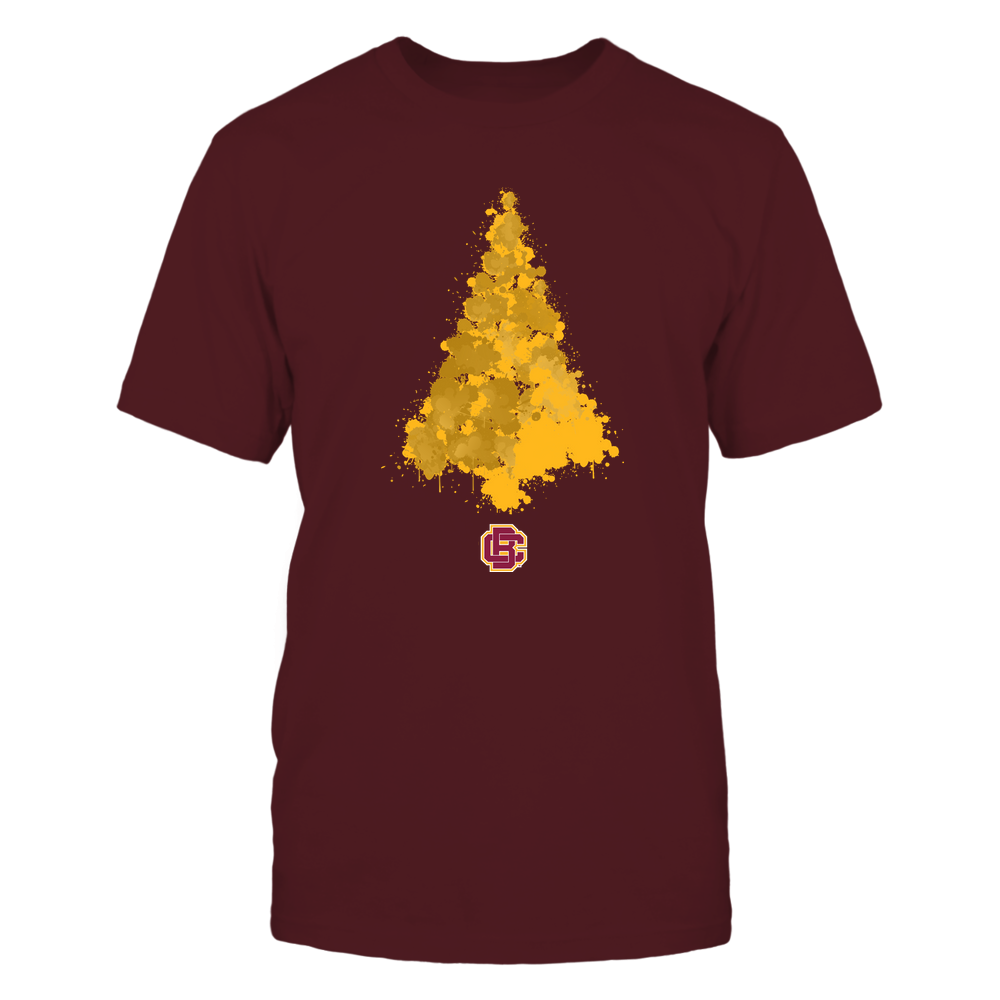 Bethune-Cookman Wildcats - Watercolor - Christmas Tree Front picture