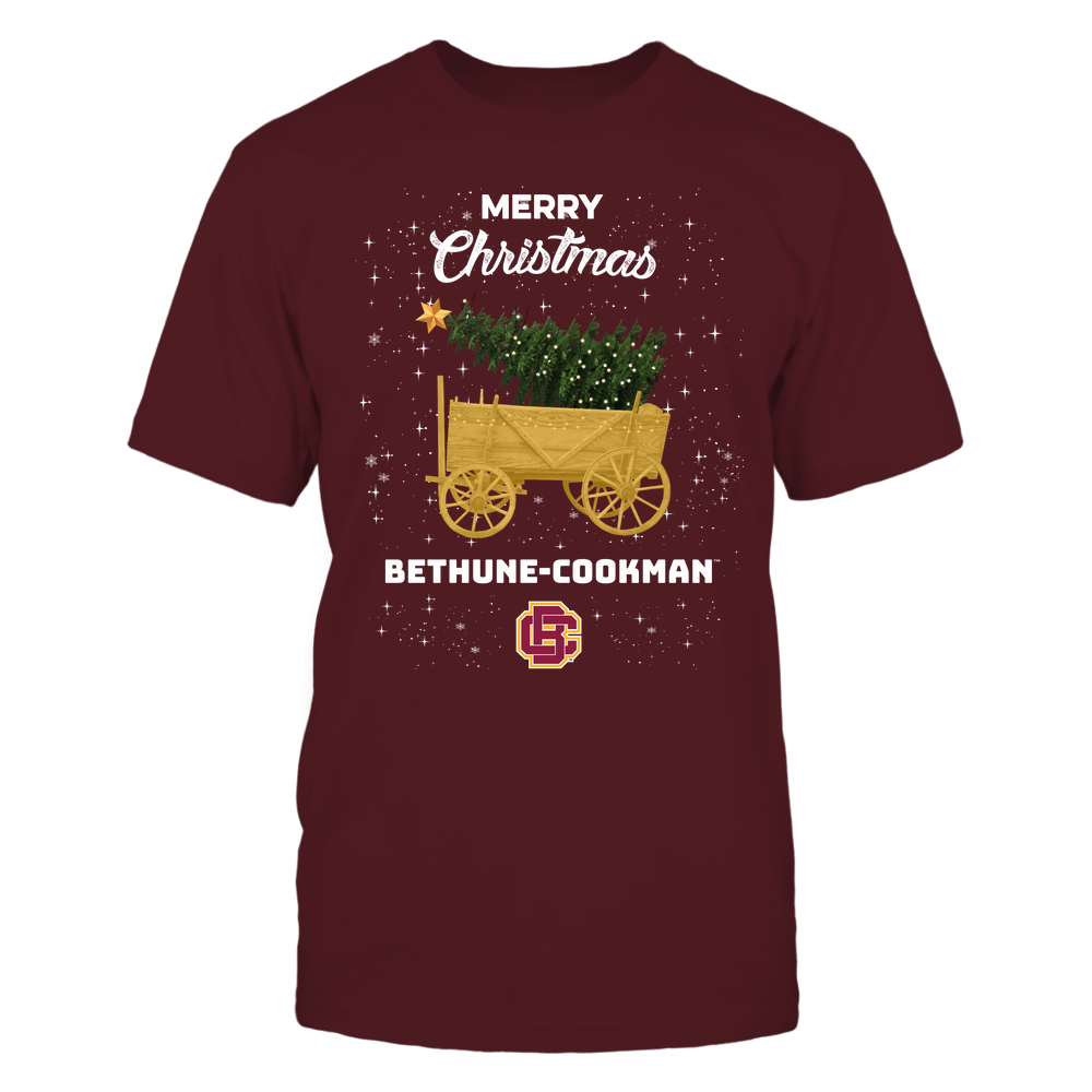 Bethune-Cookman Wildcats - Christmas Tree Cart Front picture