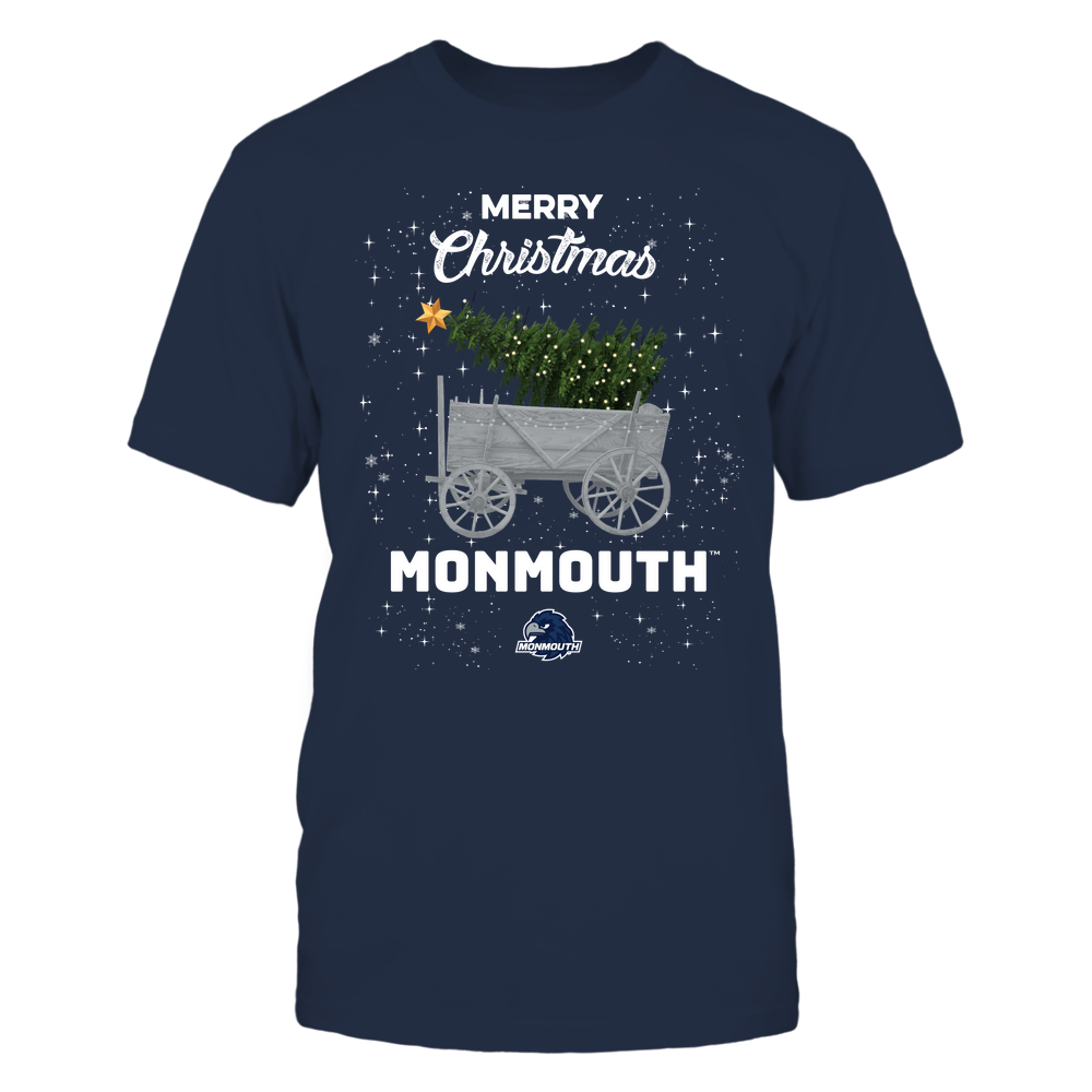 Monmouth Hawks - Christmas Tree Cart Front picture