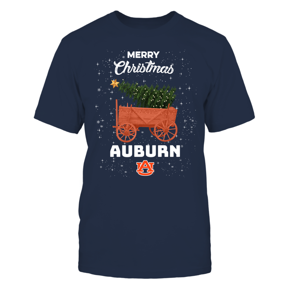 Auburn Tigers - Christmas Tree Cart Front picture