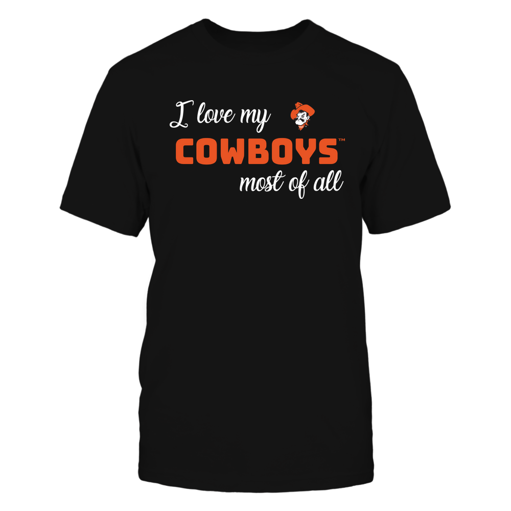 Oklahoma State Cowboys - I Love My Team Front picture