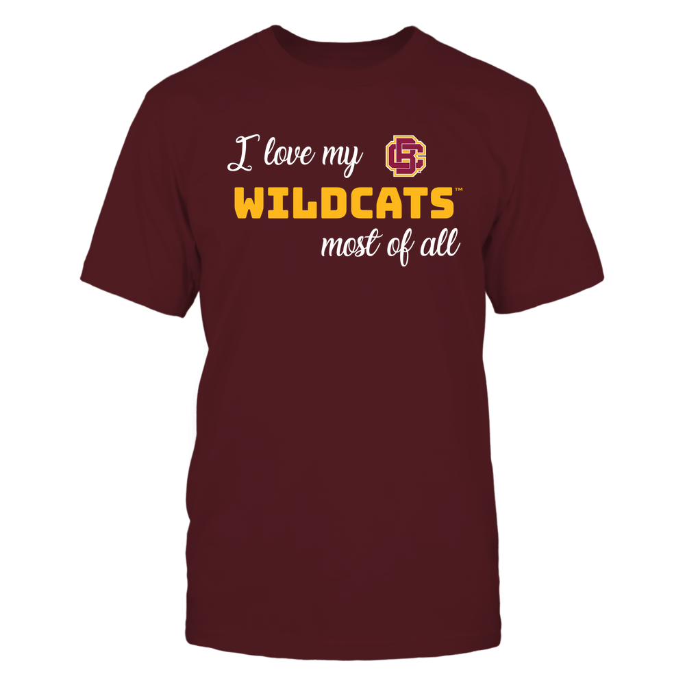 Bethune-Cookman Wildcats - I Love My Team Front picture