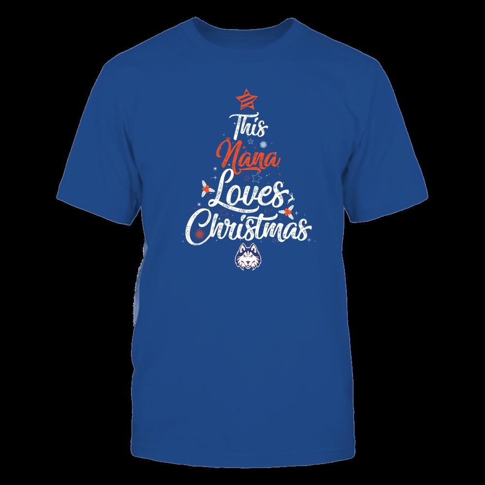 "Houston Baptist Huskies - This ""Nana"" Loves Christmas Front picture"