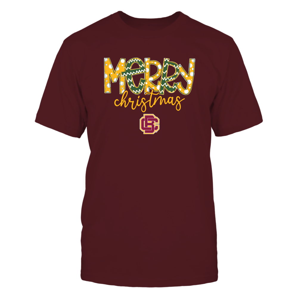 Bethune-Cookman Wildcats - Merry Christmas Doodle Front picture