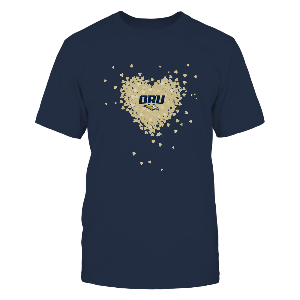 Oral Roberts Golden Eagles - Flying Hearts Front picture